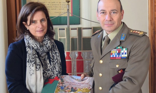 Presidente Porzi incontra Colonnello Riccardo Caimmi