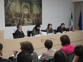 Da sinistra Angelo Canale, Antonella Manzione, Fernanda Cecchini, Alberto Naticchioni