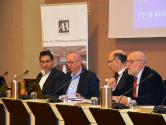 Da sinistra Luca Montagnoli, Roberto Giacinti, Otello Grassi, Enzo Tonzani