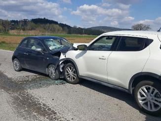 Incidente frontale a San Mariano, quattro feriti