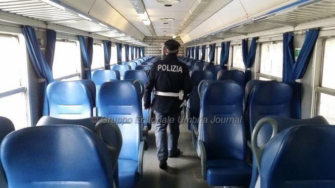 Foligno, minaccia personale ferroviario, denunciato tre volte in 24 ore