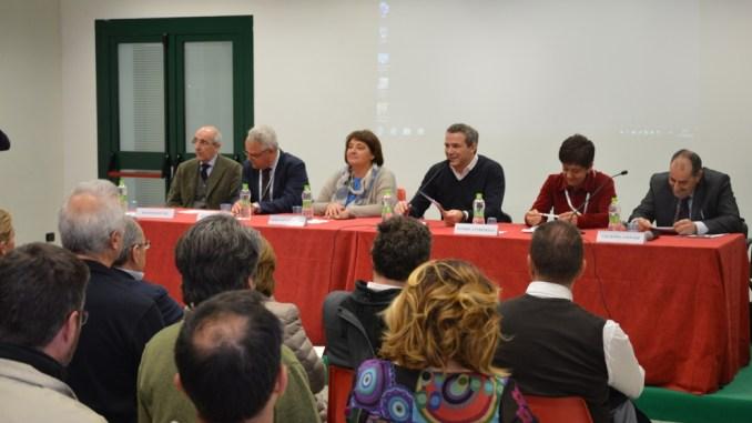 Da sinistra Francesco Tei, Ettore Fontana, Fernanda Cecchini, Marco Caprai, Daniela Farinelli, Giuseppe Ginnasi (2)