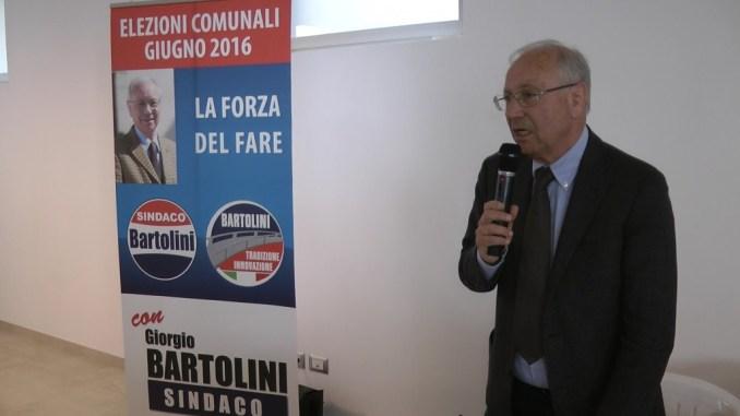 Giorgio Bartolini ha presentato sua candidatura Sindaco di Assisi. Alla presentazione hanno partecipato tantissime persone