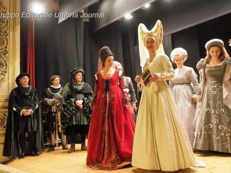 Perugia 1416, presentazione Rione Porta Eburnea