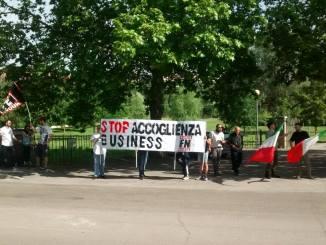 Forza Nuova Perugia: presidio, in strada, per la sicurezza