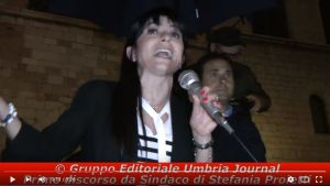 20 giugno Bastia Umbra, ore 17, Stefania Proietti incontra la stampa