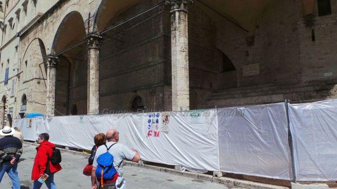 Logge di Braccio finalmente libere, dice Umbria Grida Terra