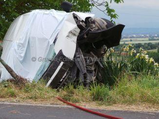 Incidente mortale a Civitella d'Arna, uomo perde la vita [FOTO E VIDEO]