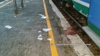 Investita dal treno a Perugia, dramma stazione Fontivegge [FOTO]