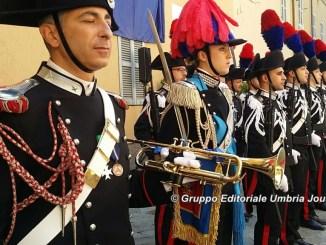 Carabinieri, celebrati a Perugia i 202 anni dell'Arma