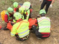 Terremoto, colonna mobile protezione civile a Castelluccio