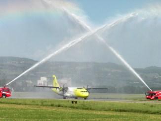 Mistral air Perugia – Cagliari, boom di passeggeri da aeroporto