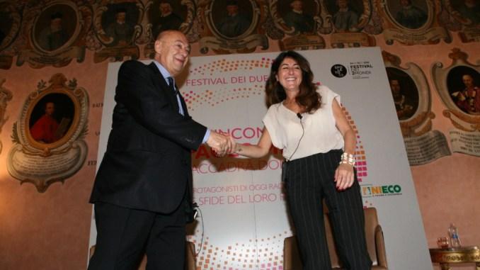 Ilaria Dallatana agli Incontri di Paolo Mieli.