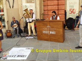 Swing street a Umbria Jazz in Corso Vannucci a Perugia, come West 52nd NYC