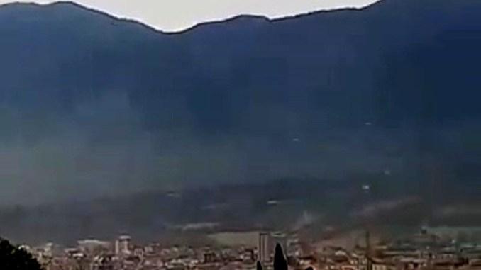 Inquinanti siderurgici nell'atmosfera a Terni, videotestimonianza M5S [VIDEO]