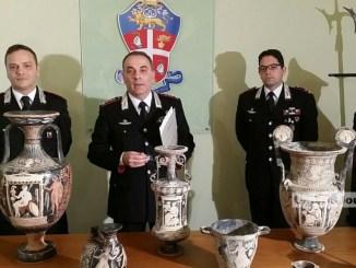 Carabinieri Perugia recuperano opere d'arte, 5 persone denunciate