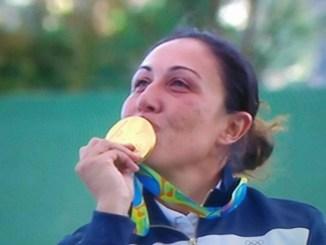 Diana Bacosi, oro olimpico, coinvolta in un incidente stradale, sta bene