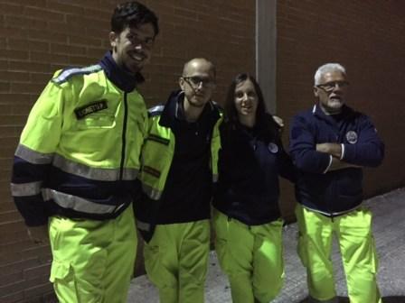 Volontari del Gruppo Perusia