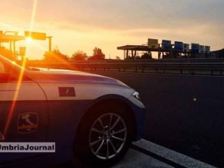 """La Polstrada dell'Umbria aderisce alla campagna europea """"Speed"""" velocità"""