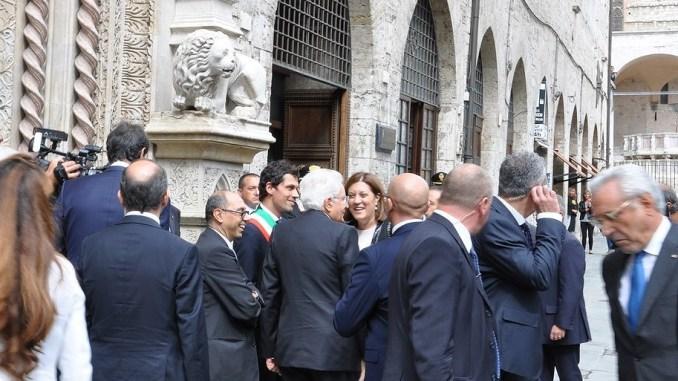 Visita presidente Mattarella, soddisfazione della presidente Marini