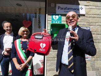 Colonnina salvavita a la Pallotta, Social City all'Amministrazione di Perugia