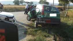 Incidente lungo la Pievaiola a Perugia, persone ferite
