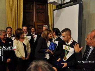 Olimpionici di tiro, Marini, Umbria orgogliosa vi dice grazie