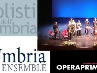 Operaprima UmbriaEnsemble Equilibri dinamici Chiostro Accademia Belle Arti Perugia