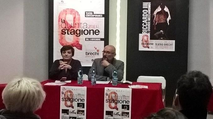 """Fontemaggiore ha presentato """"La Quinta Stagione"""" al Teatro Brecht di San Sisto"""