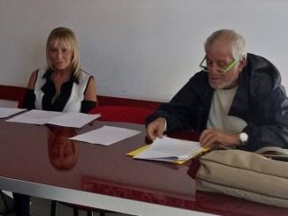 I dirigenti del Sunia Cristina Piastrelli e Rossano Iannoni