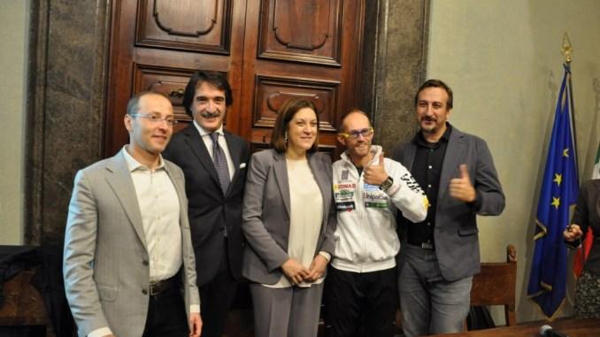 Leonardo Cenci parteciperà alla maratona di New York