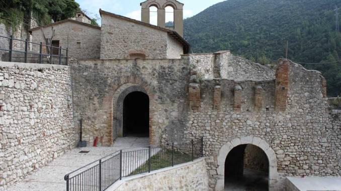 La chiesa di San Giovanni Battista a Rocca San Zenone sarà visitabile nell'ambito delle mattinate Fai per le scuole