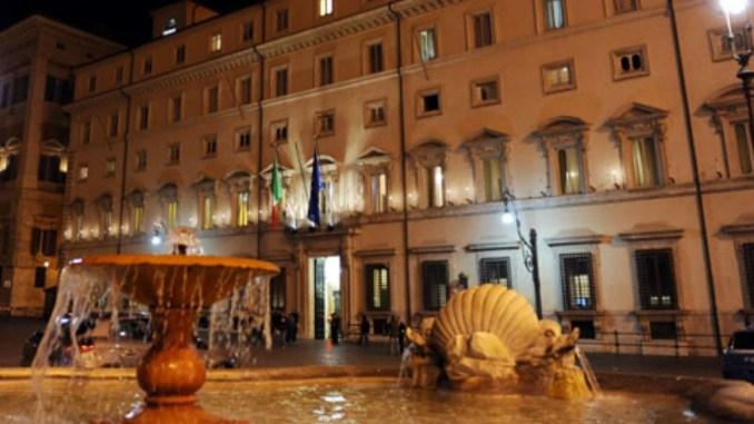 Terremoto, terminato incontro a Palazzo Chigi con governatori