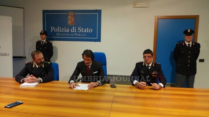 Mega operazione antidroga Polizia Perugia 9 arresti, 8 ricercati, 27 indagati