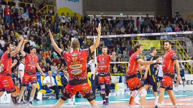 Volley, Sir Safety, Perugia espugna il Palaolimpia di Verona