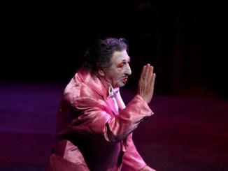 Vangelo di e con Pippo Del Bono, in scena al teatro Morlacchi