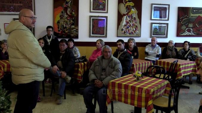 Assessore Bartolini in visita agli abitanti delle zone terremotate ospitati negli alberghi del perugino