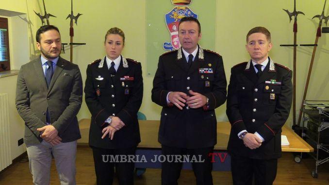 Bilancio fine anno Carabinieri Perugia e provincia, Piccinelli, controllo territorio funziona