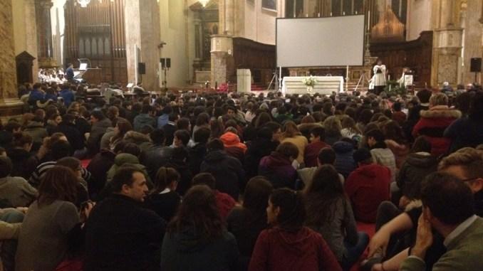 Perugia, sempre partecipata la Veglia di preghiera d'Avvento dei giovani