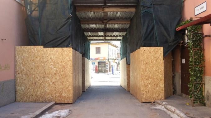 Terremoto Norcia, riapre la Porta Ascolana, sindaco Nicola Alemanno firma ordinanza