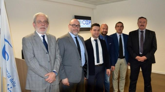 Da sinistra Giovagnola, Meschini, Fora, Mariani, Sembolini, Canosci