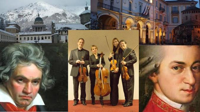UmbriaEnsemble, QuartettoViotti domenica 12 febbraio a Biella