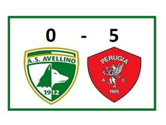 Dopo il 3-0 dell'andata, il Perugia si è imposto anche Ad Avellino per 5-0