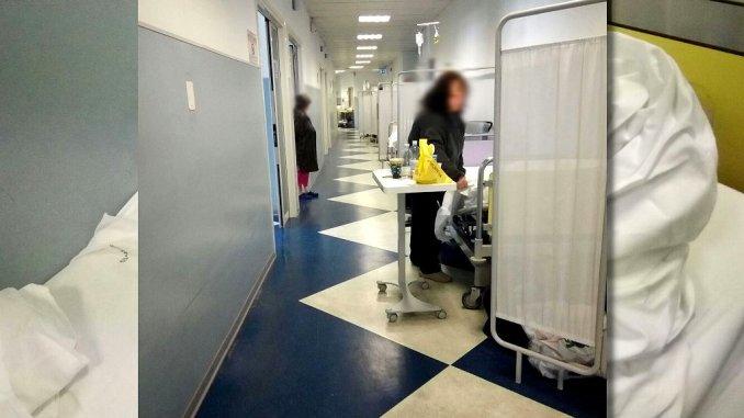 Barelle in corsia ospedale di Terni, M5s vuol chiamare Emergency di Gino Strada