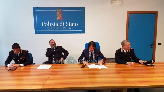 Spaccio di droga, operazione della polizia di Perugia, 10 pusher presi