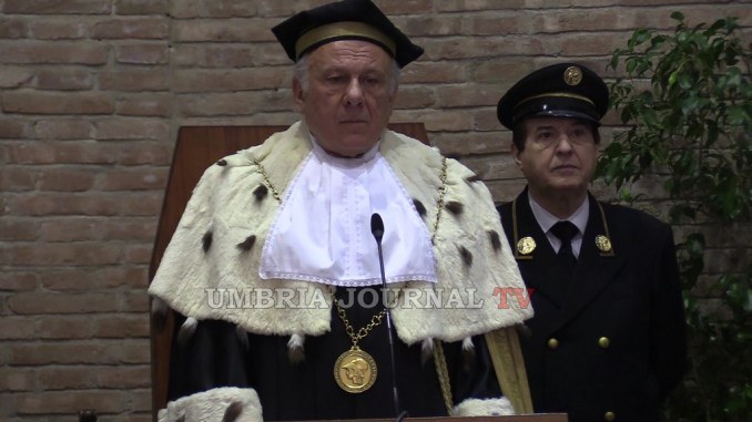 Ministro Marco Bussetti a Inaugurazione anno Accademico Ateneo Perugia