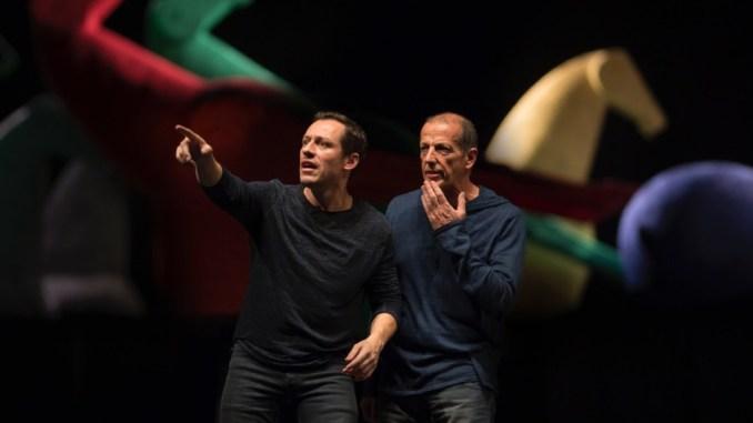 Stefano Accorsi e Marco Baliani, al Teatro Cucinelli di Solomeo