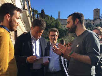 Perugia, Omphalos incontra Renzi sulla legge regionale contro l'Omotransfobia