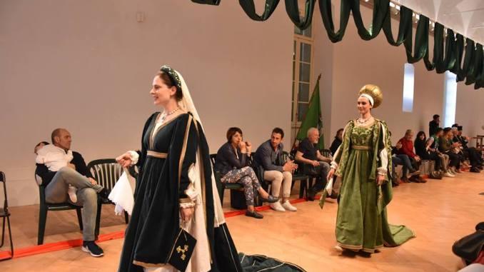 Perugia 1416, eletta la dama di Porta Eburnea, è Alessia Bura