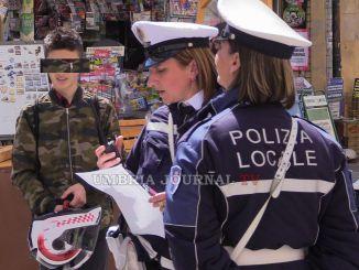 La Polizia Locale sciopera nel giorno della sfilata di Perugia 1416